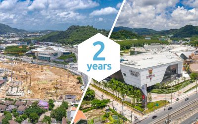 Central Festival Phuket – new building construction