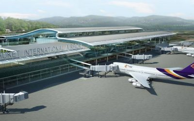 Phuket International Airport – new terminal construction