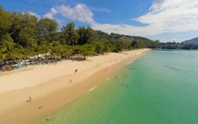New Surin Beach — Beachfront Businesses Shut Down