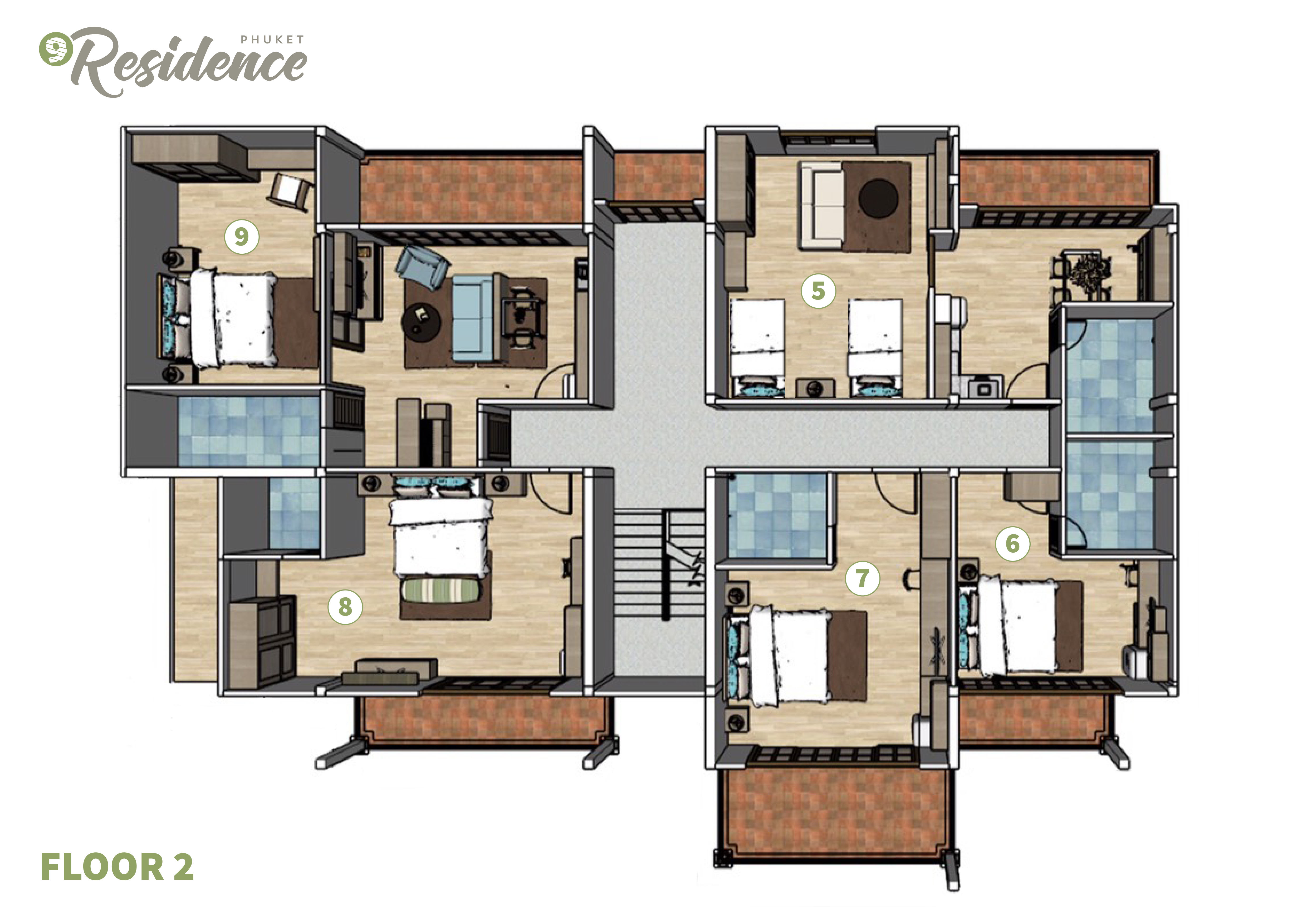villa plan chalong