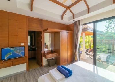 Bedroom at villa