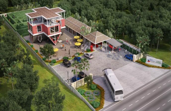 upside down house baan telaka phuket