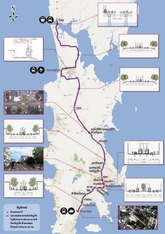 Phuket's light rail transit plan