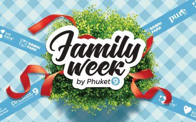 """Family Week by Phuket9"" — EXPO at Jungceylon, March, 2018"