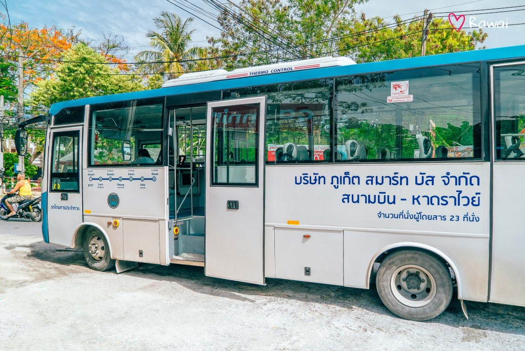 bus in phuket from airport