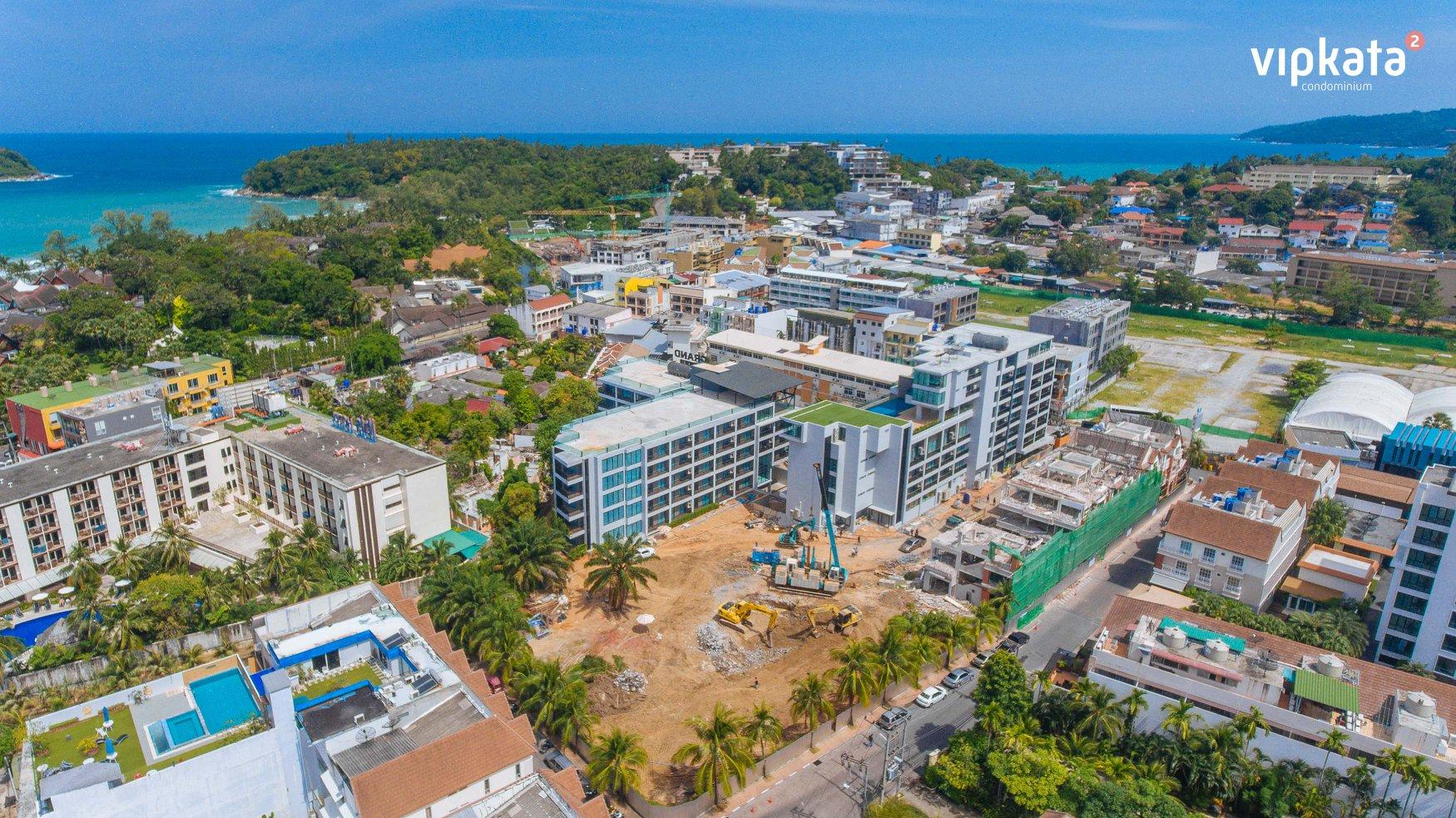 construction of the vip kata condominium