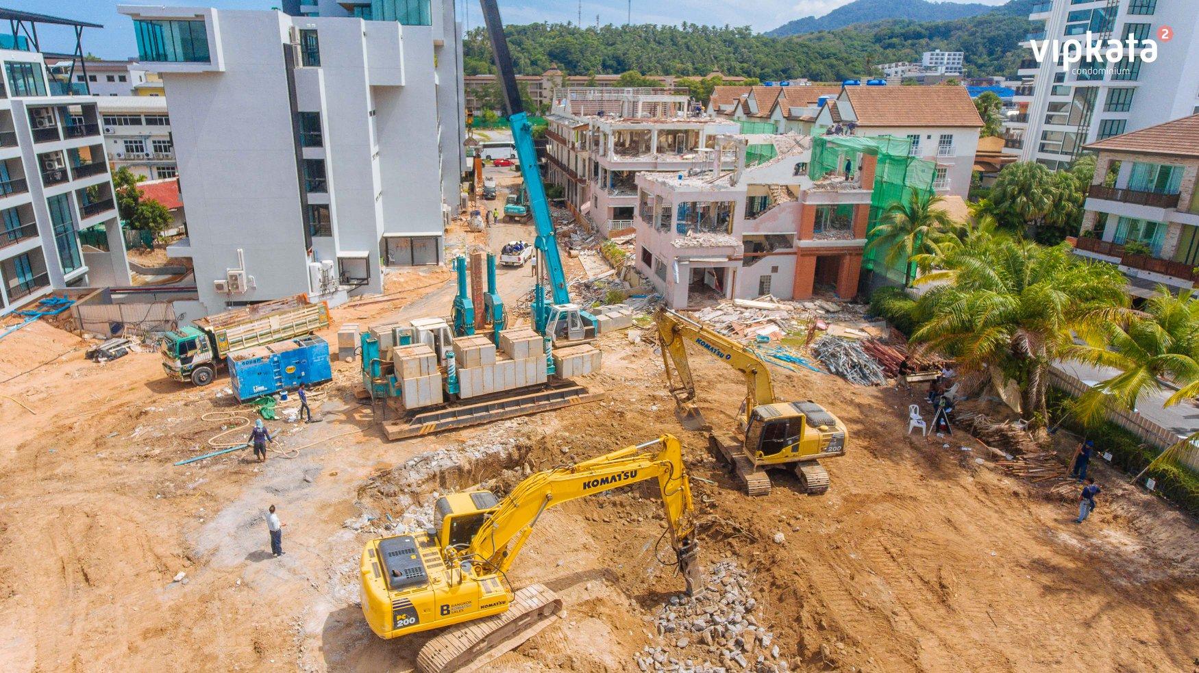 начало строительства ВИП КАТА кондоминиум