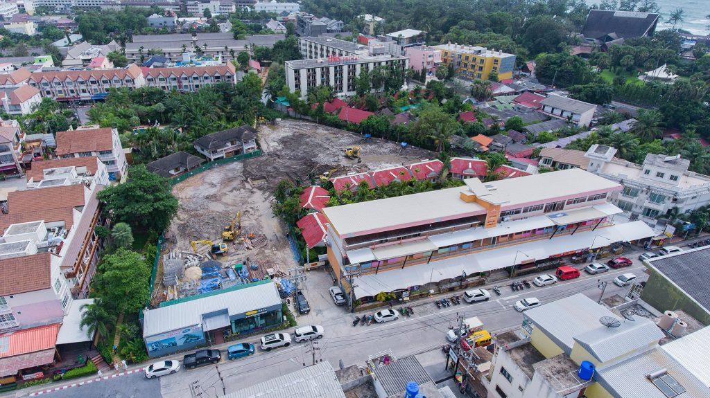 start of construction of VIP KATA