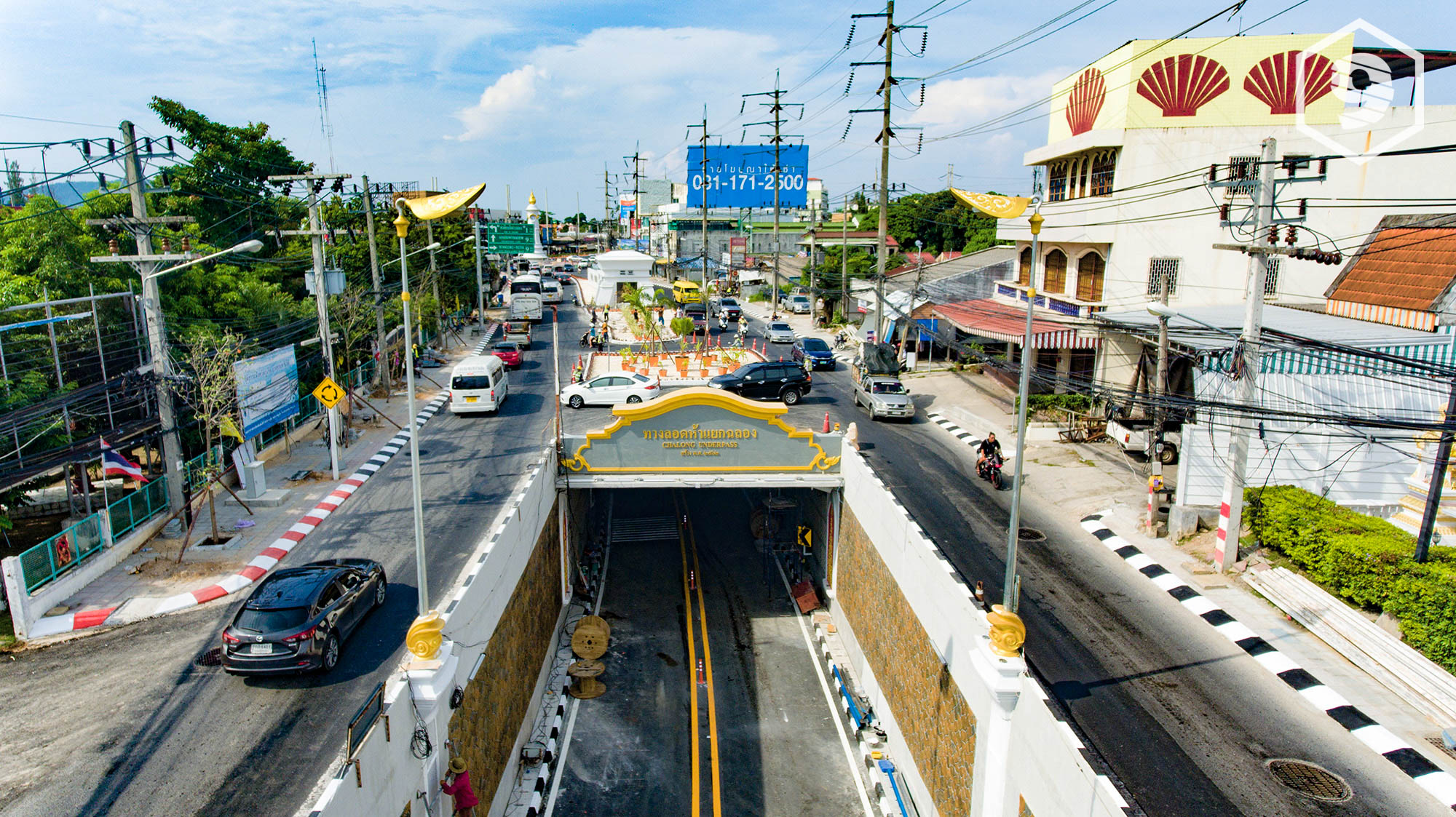Chalong Tunnel almost opened