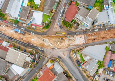 Chalong Underpass Construction, Phuket