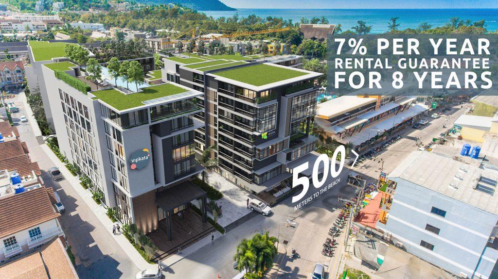 VIP KATA² Condominium Investment property in Phuket