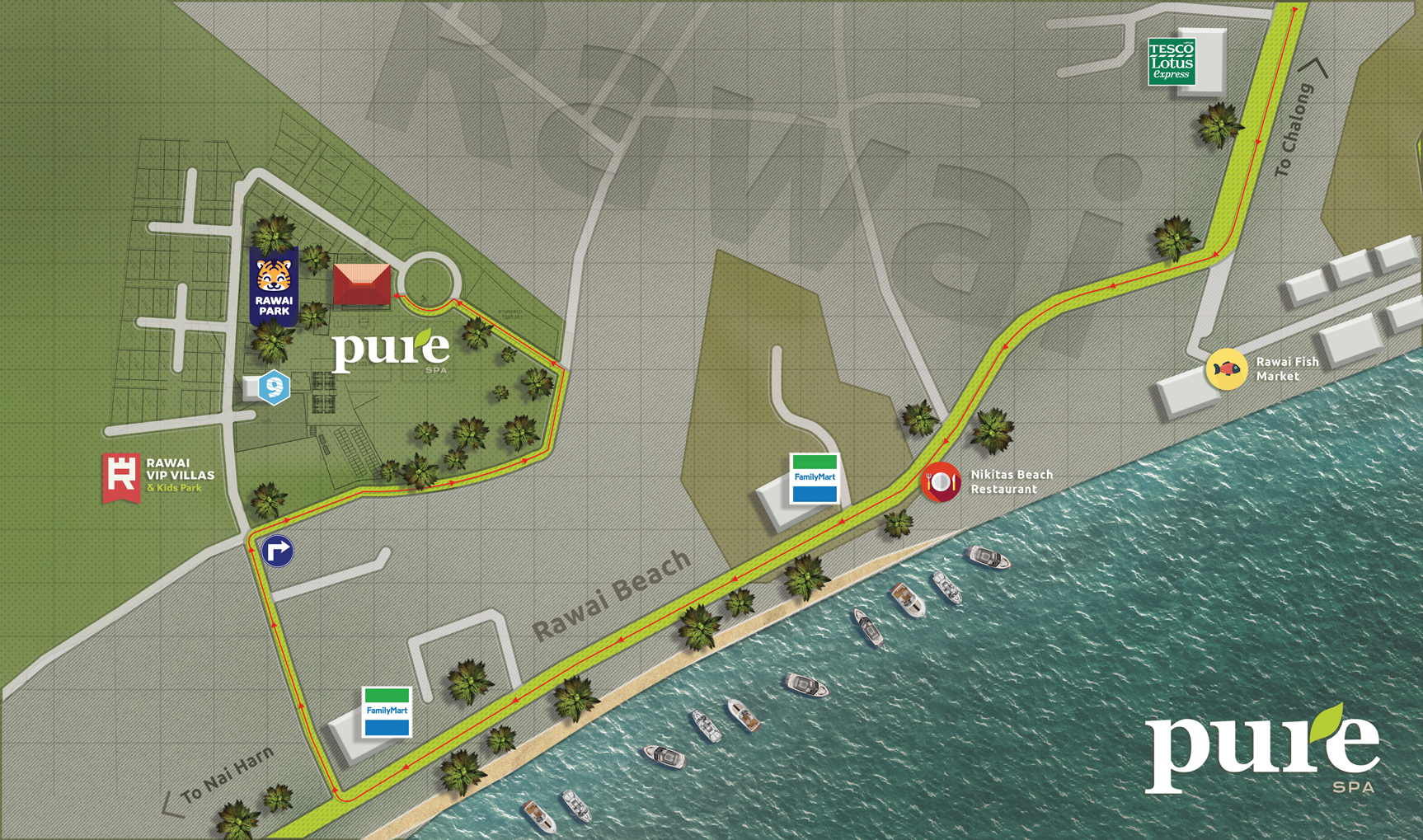 phuket spa address location rawai beach