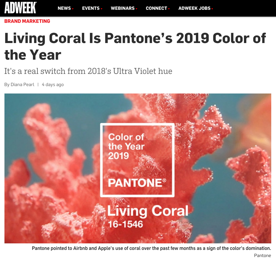 color of the year 2019