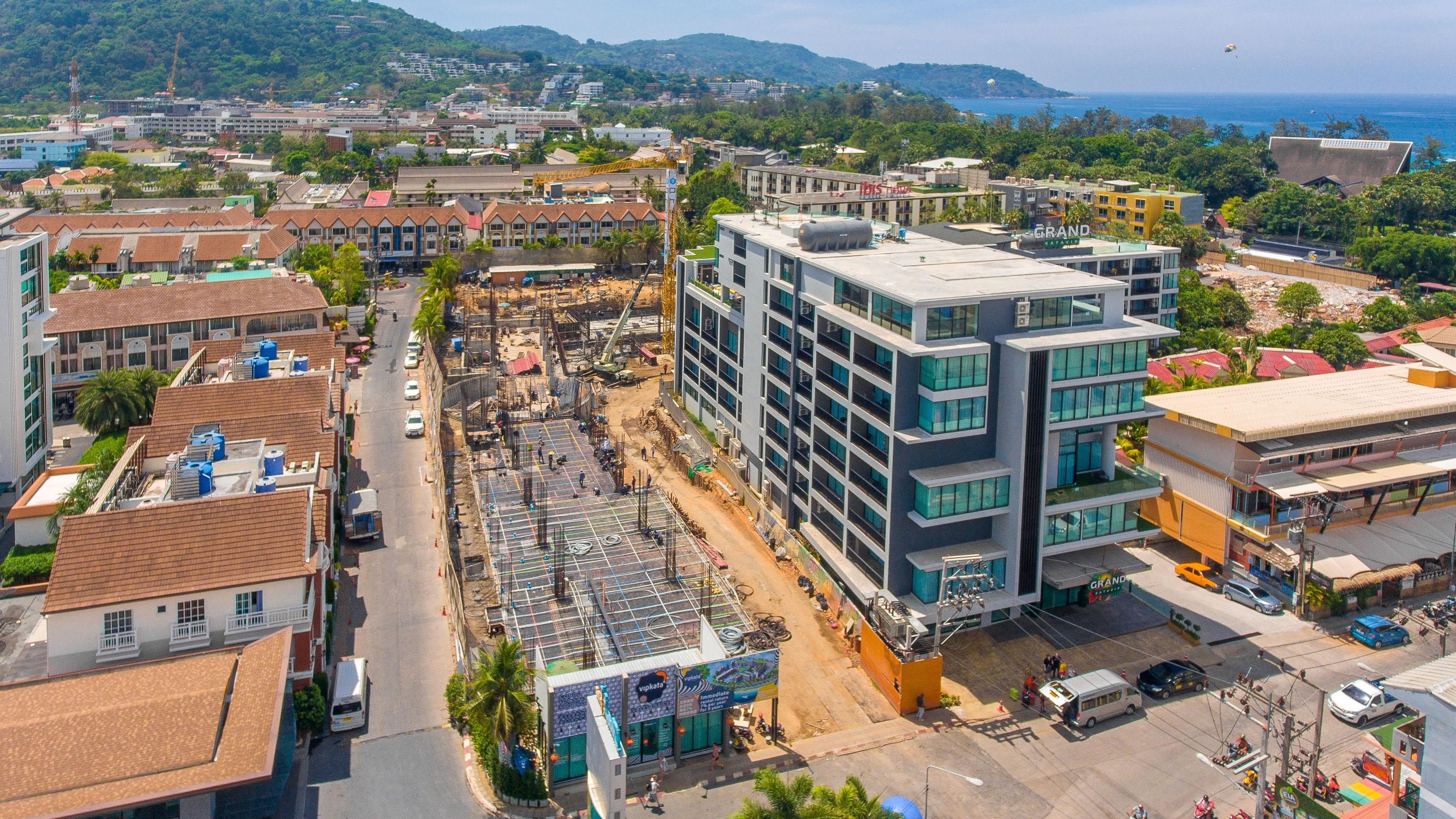 condo in phuket construction
