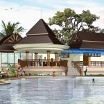 строительство бассейна и клаб хауса