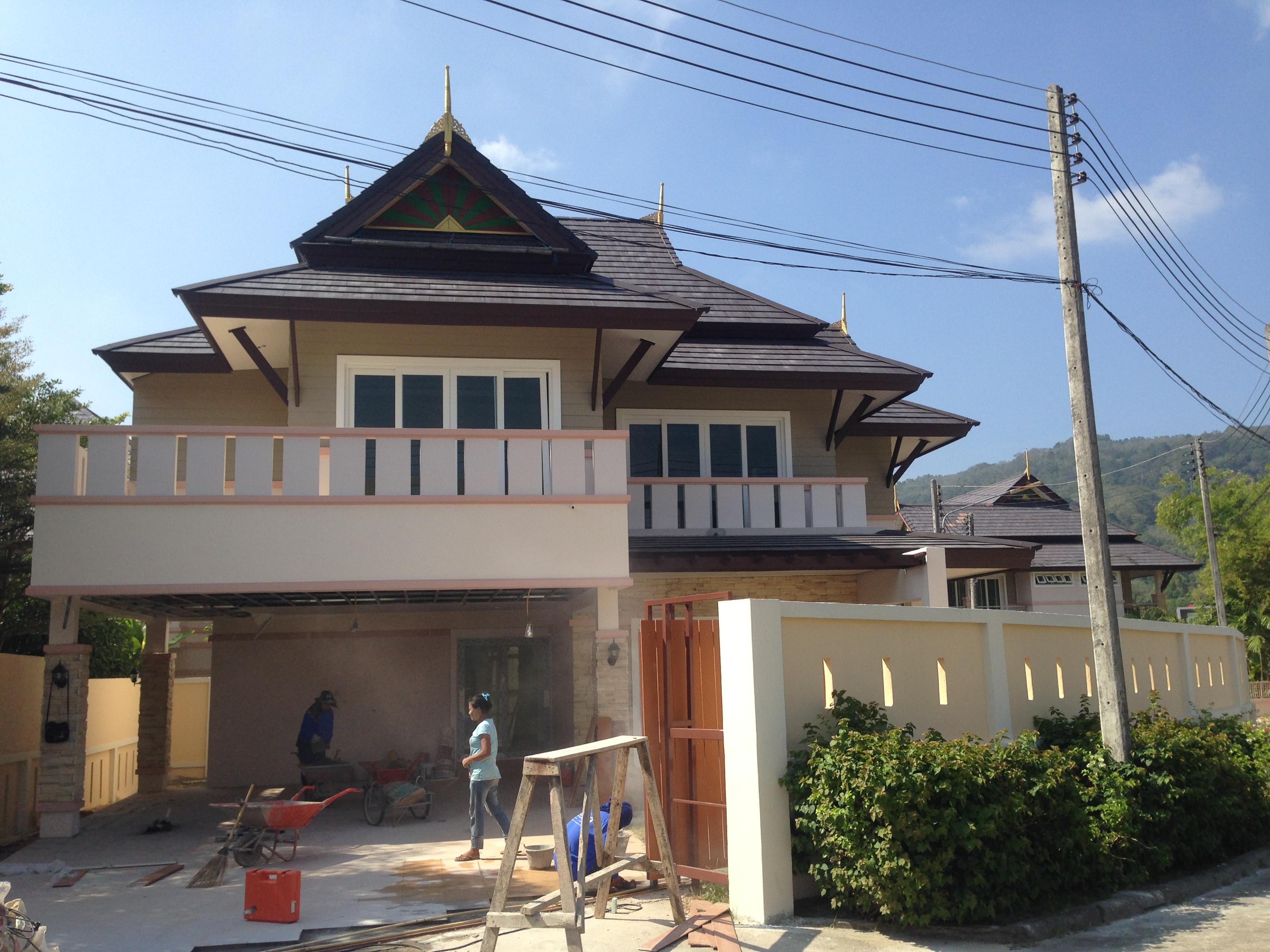 строительство и продажа домов в районе Чалонг