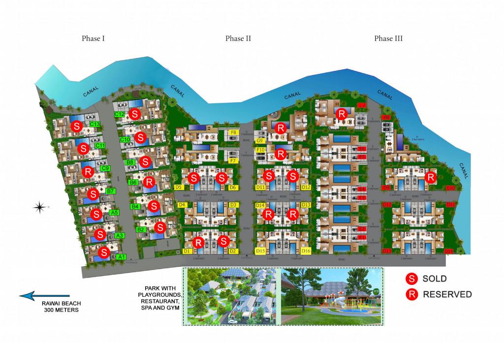 拉威VIP别墅 –– 普吉岛南部最大的别墅社区 - 9