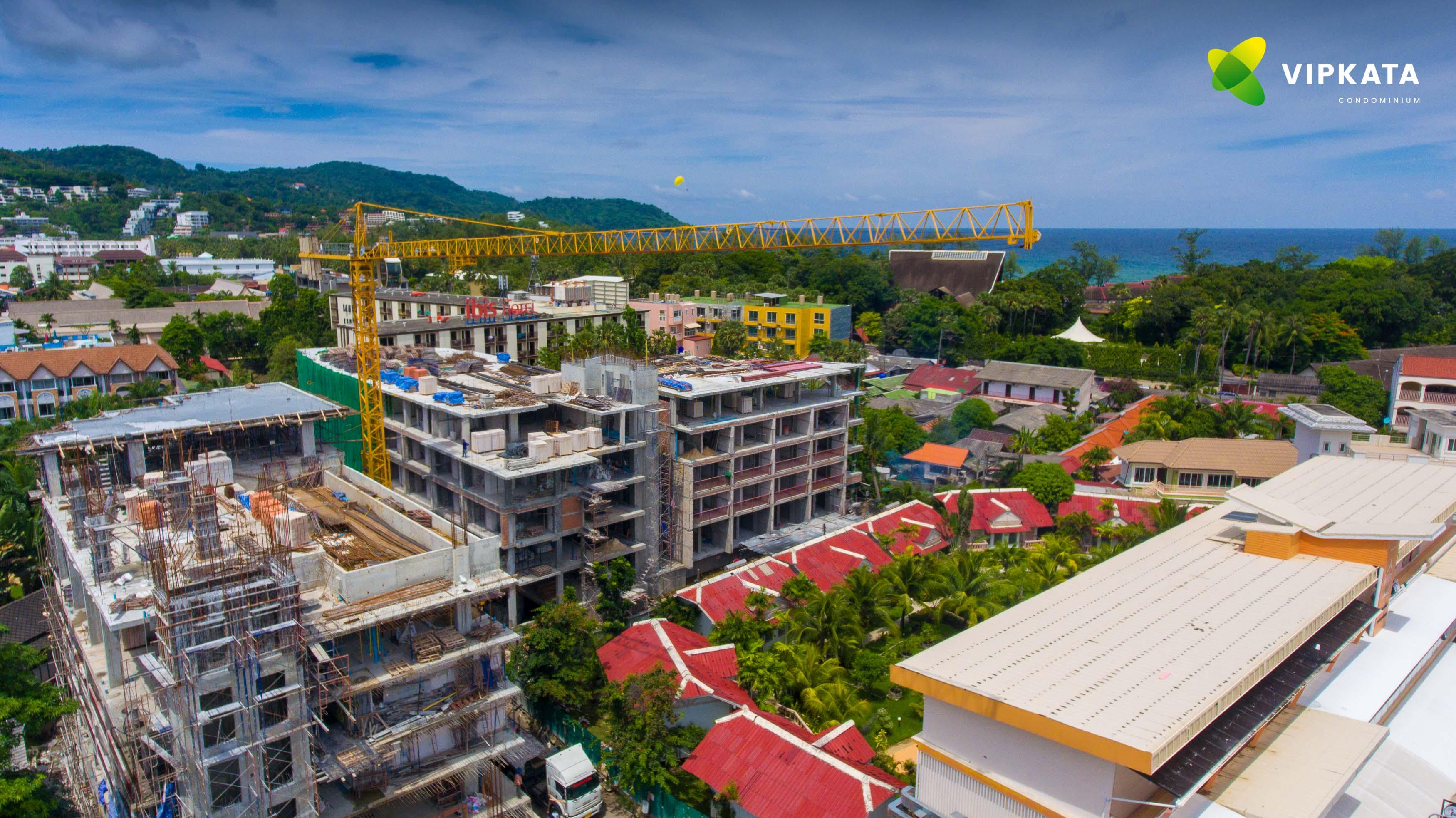 квартиры на стадии строительства