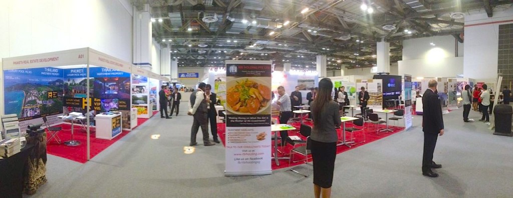 SMART property exhibition in Singapore, 2014