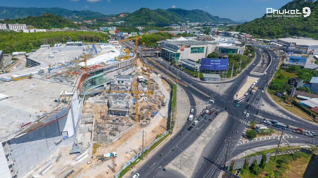 Строительство нового корпуса ТРЦ