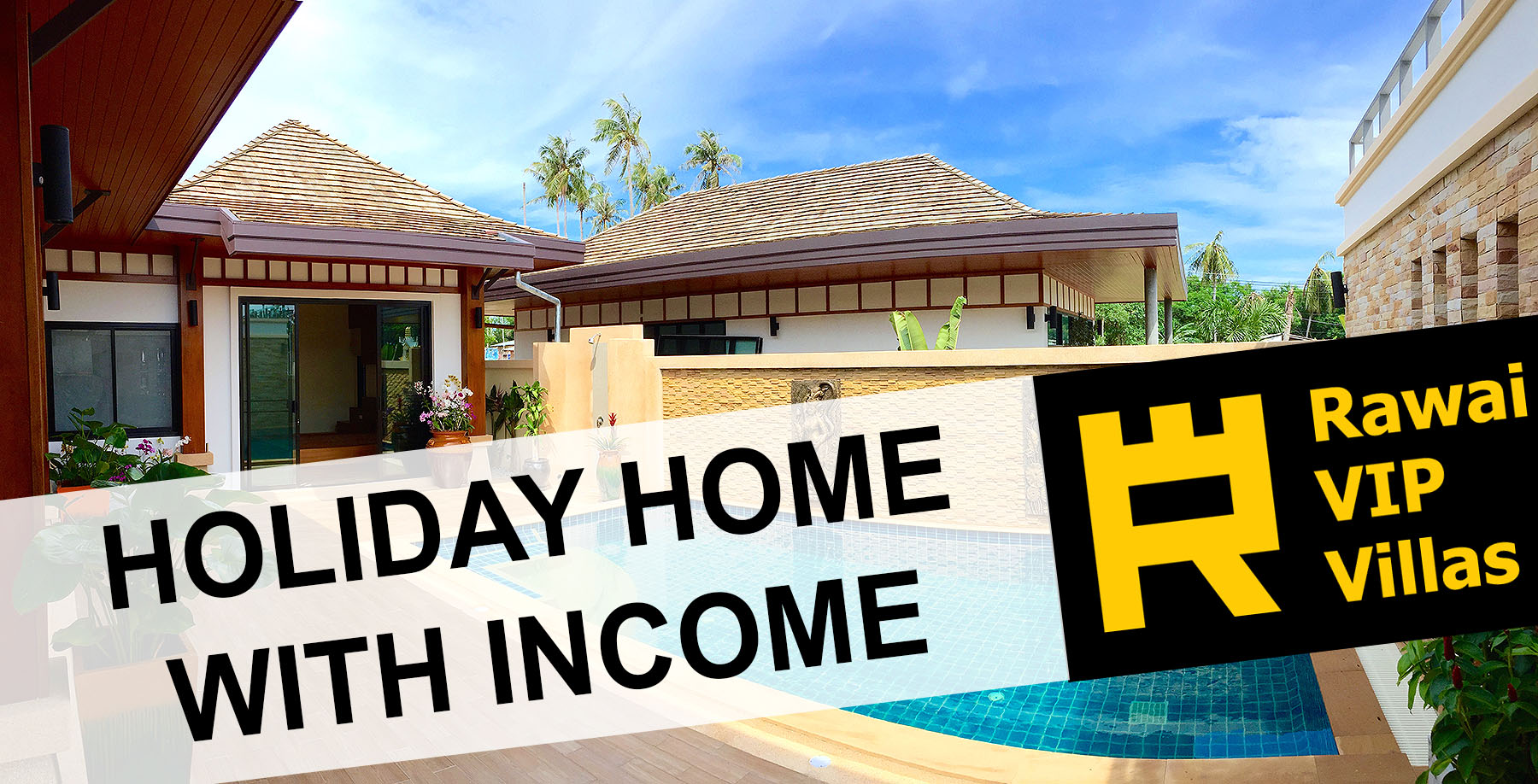 holday home with income