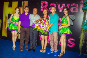 grand opening party for rawai vip villas