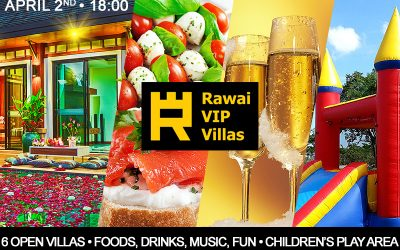 Grand Opening Party for Rawai Vip Villas [invitation]