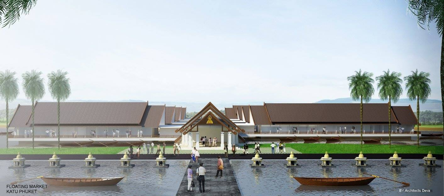 Construction of 6 new shopping centers in Phuket - 5