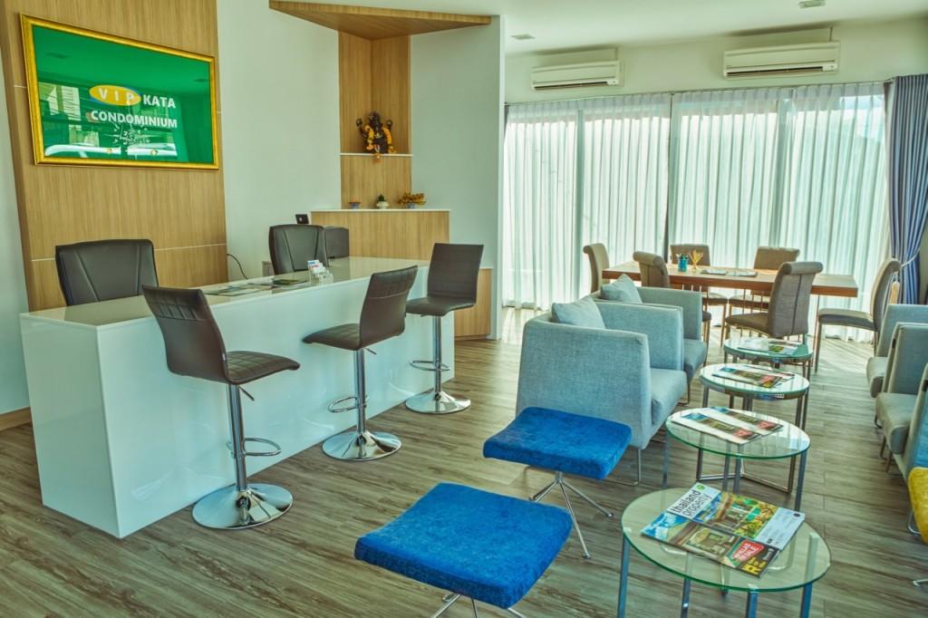 Офис продаж нового кондоминиума на Пхукете