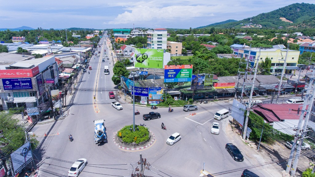 rawai roads – chalong circle intersection