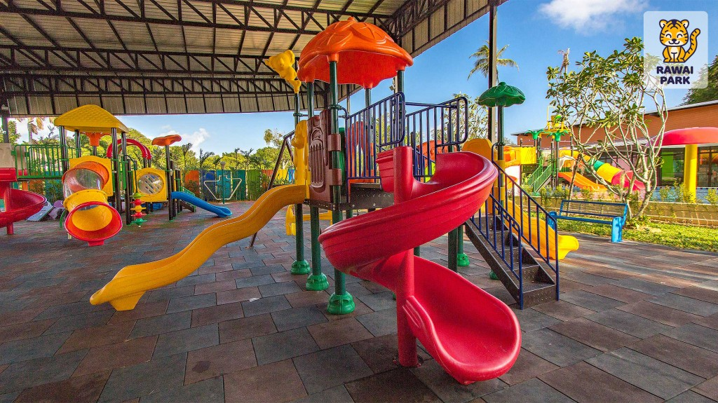 Rawai Park – new kids playgrounds and waterpark in Phuket - 3