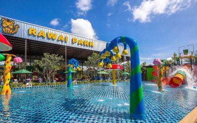 Rawai Park – new kids playgrounds and waterpark in Phuket