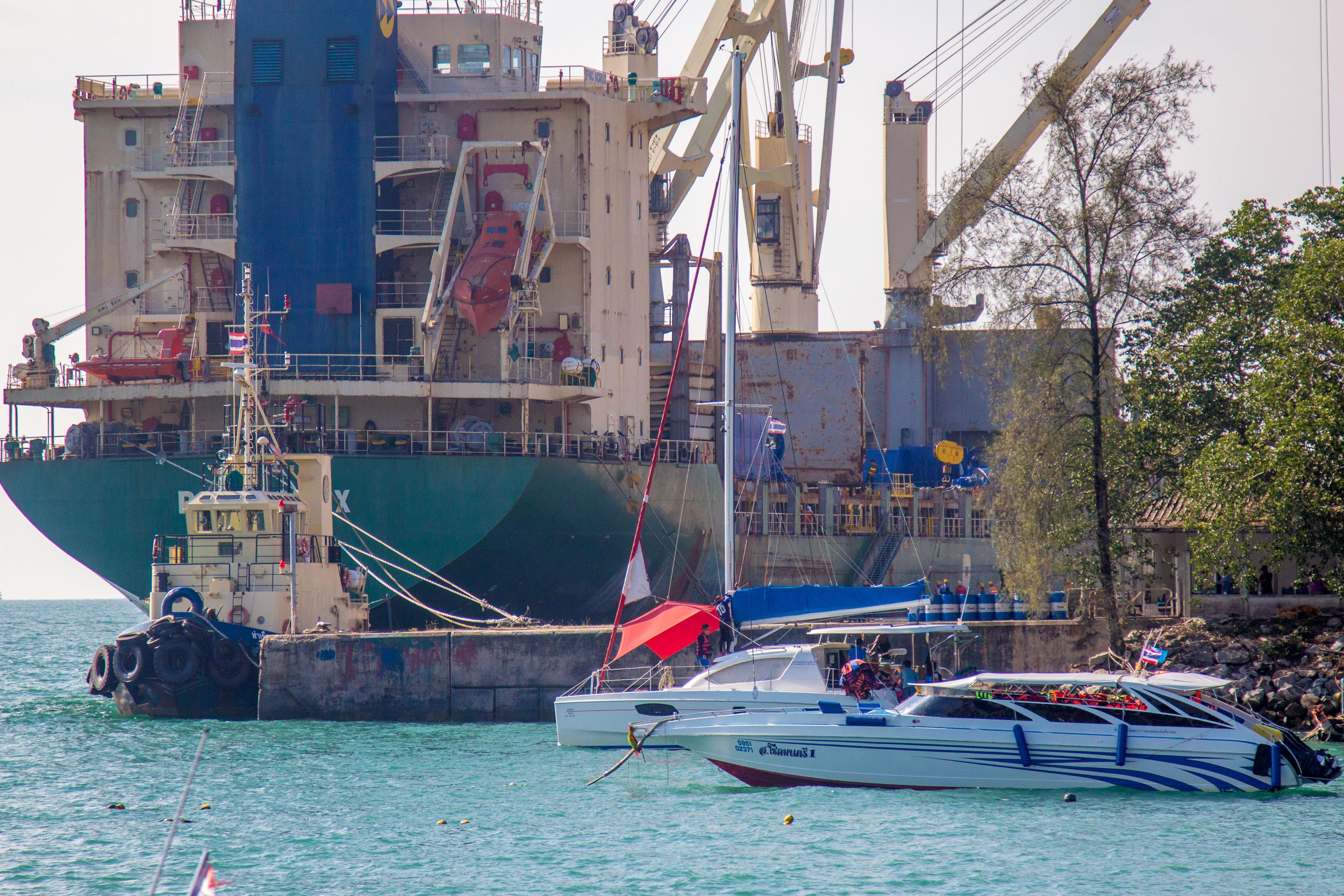 морской порт пхукета