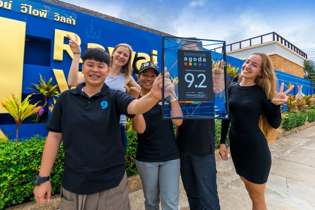 Agoda Rawai VIP Villas rating reviews