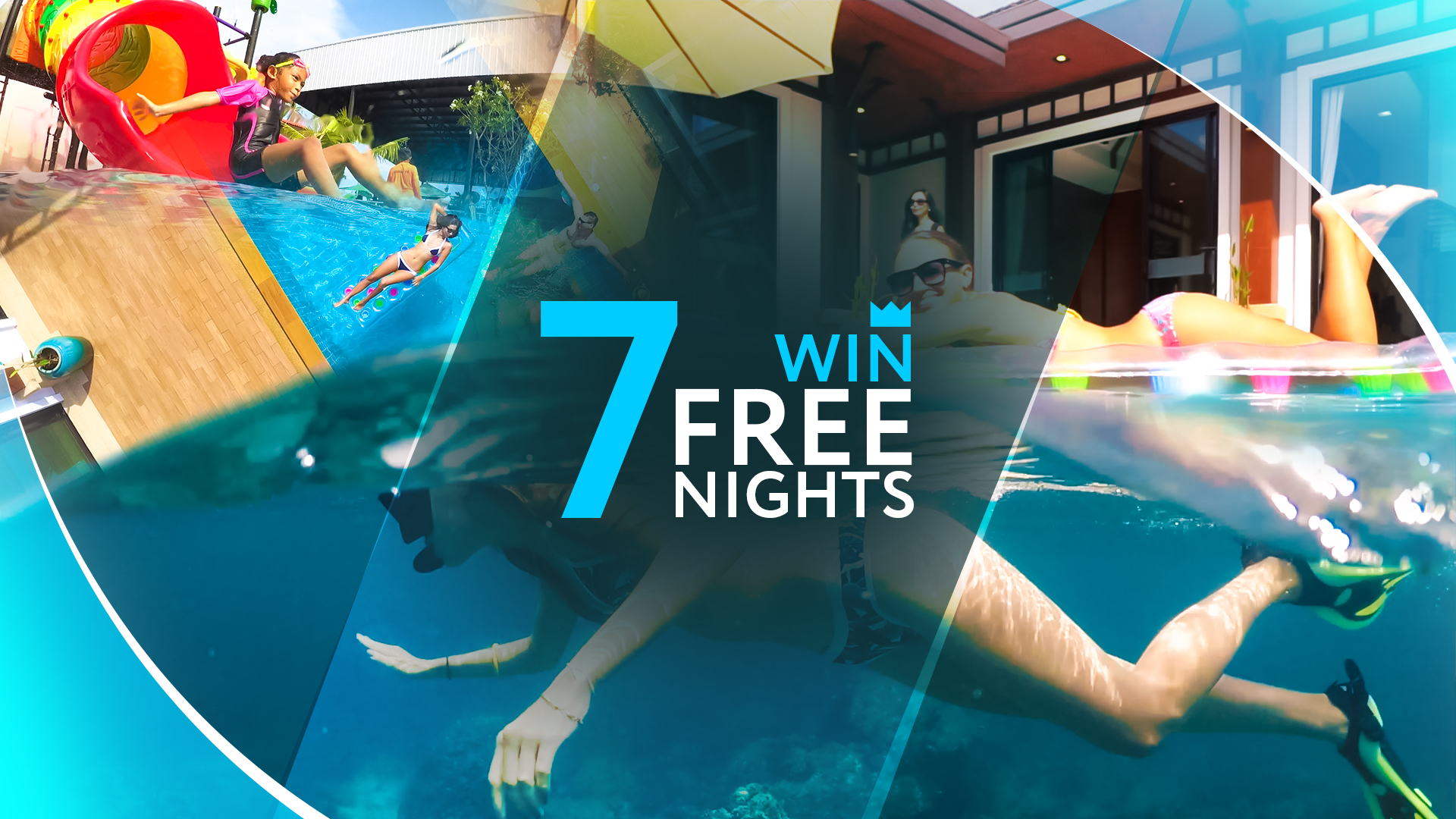 win 7 nights at Rawai VIP Villas, Phuket