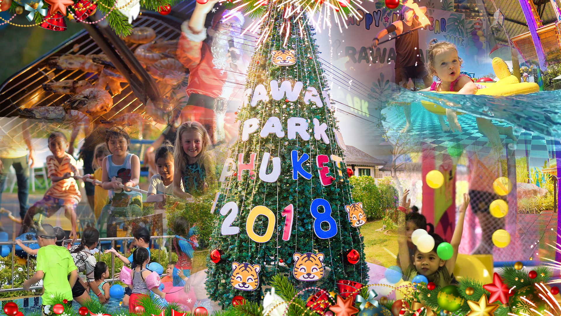 Promo for New Year at Park 2018