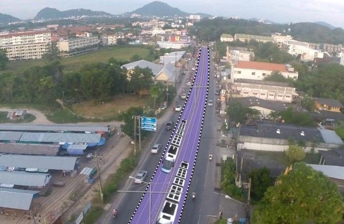 Development of  the Light Rail Transit in Phuket, proceeding EIA and surveying construction site. - 4