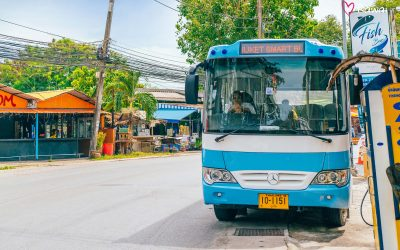 Phuket Smart Bus Launched. From Airport to Rawai for 170 Baht.