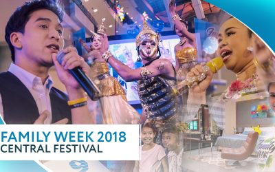 """Family Week by Phuket9"" — EXPO at Central Phuket, April, 2018"