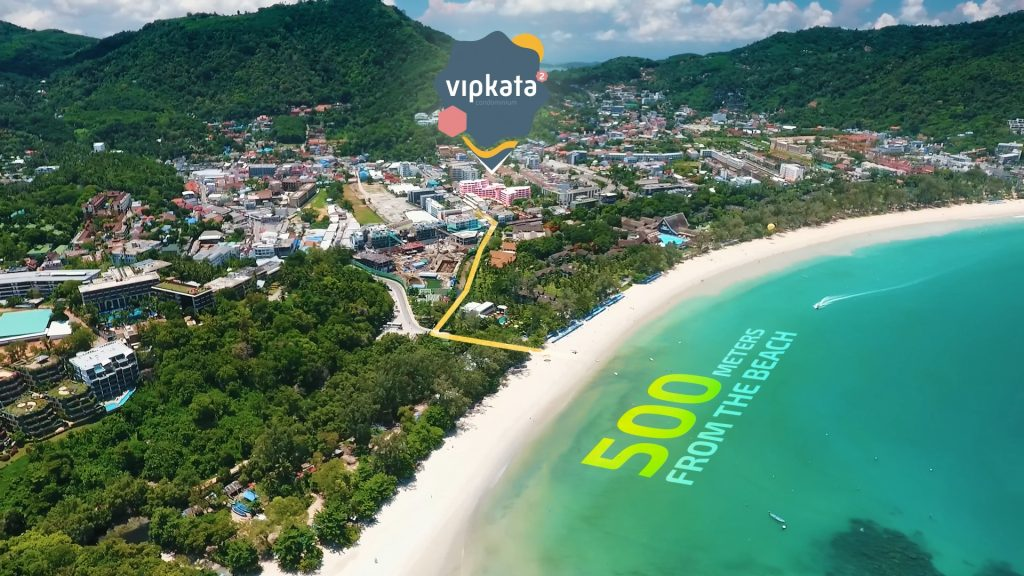 500 meters from Kata Beach