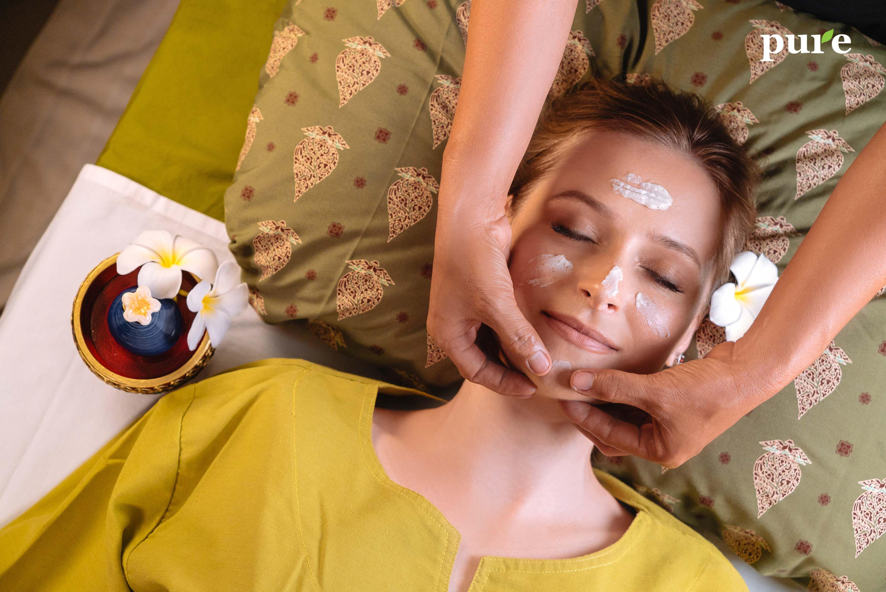 phuket face spa facial cleansing