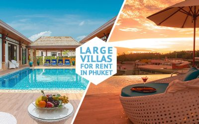 Large Villas for Group Travelers in Phuket for Rent