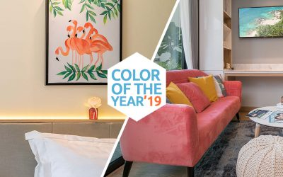 Color of the Year 2019 in Phuket9 New Condominium Design