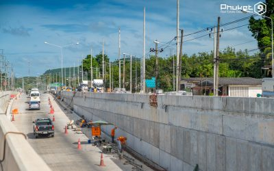 Phuket Airport Underpass Construction